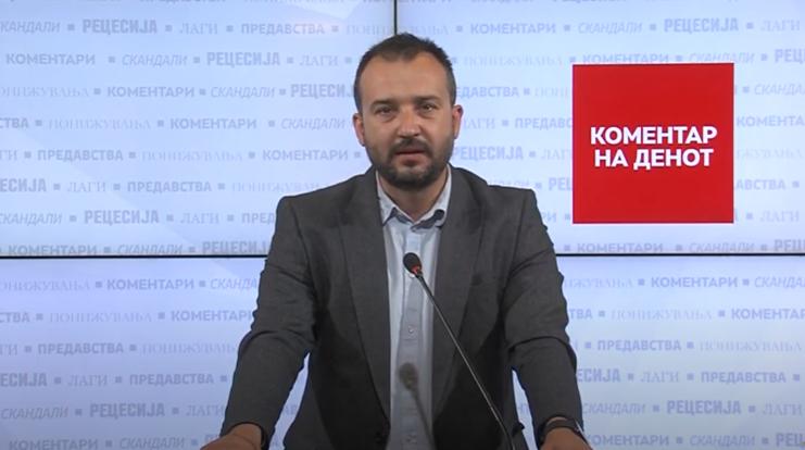 Коментар на денот – Лефков: Додека фирми чекаат со месеци за наплата, Кочо Анѓушев се наплати експресно 3.62 милиони евра за модуларни болници