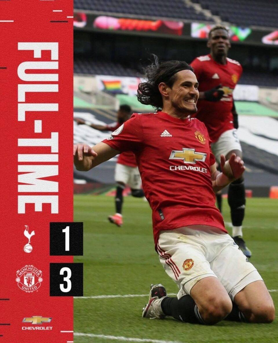 Манчестер Јунајтед вечерва доминираше – го порази Тотенхем во Лондон