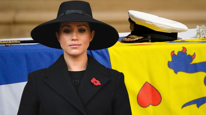 Меган Маркл не присуствуваше на погребот на принцот Филип