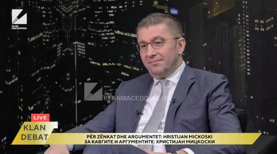 Мицкоски: Политичарите треба да се слуги на граѓаните, а театарот во Собрание е фрустрација која се крши на грбот на граѓаните