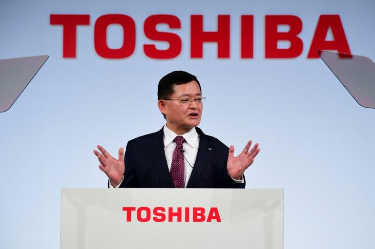 Извршниот директор на Тошиба поднесе оставка