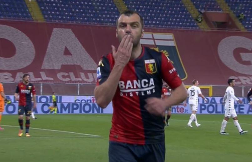 Пандев се запиша во историјата на Серија А со 100 постигнати гола