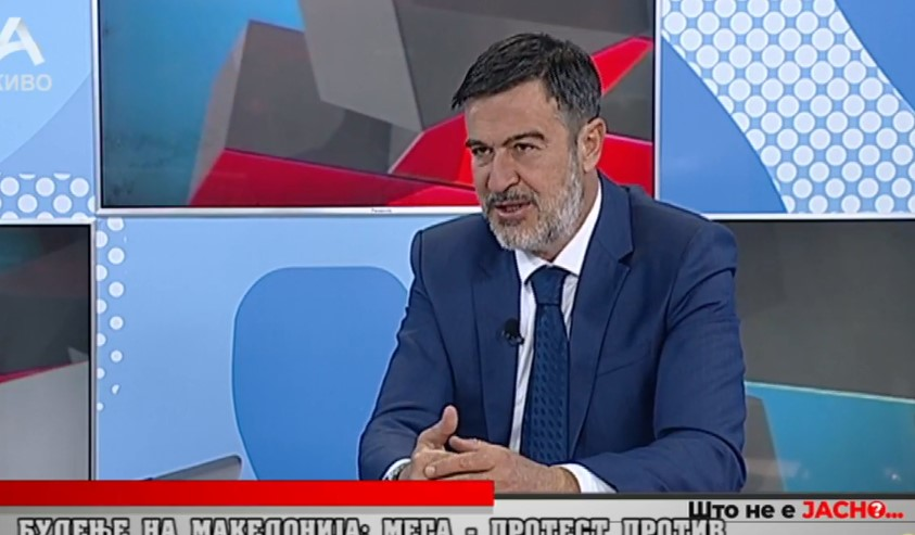 Пандов: На народот му дојдено преку глава, народот на вчерашниот протест најдиректно му покажa на Зоран Заев дека крајот му се ближи