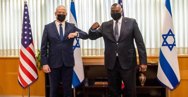 Шефот на Пентагон со силна поддршка за Израел