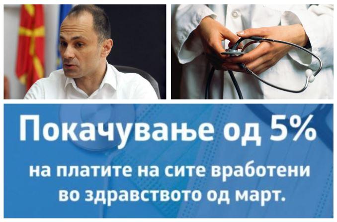 Ништо од ветувањето на Филипче: Вработените во здравството нема да го добијат најавеното покачување на платата