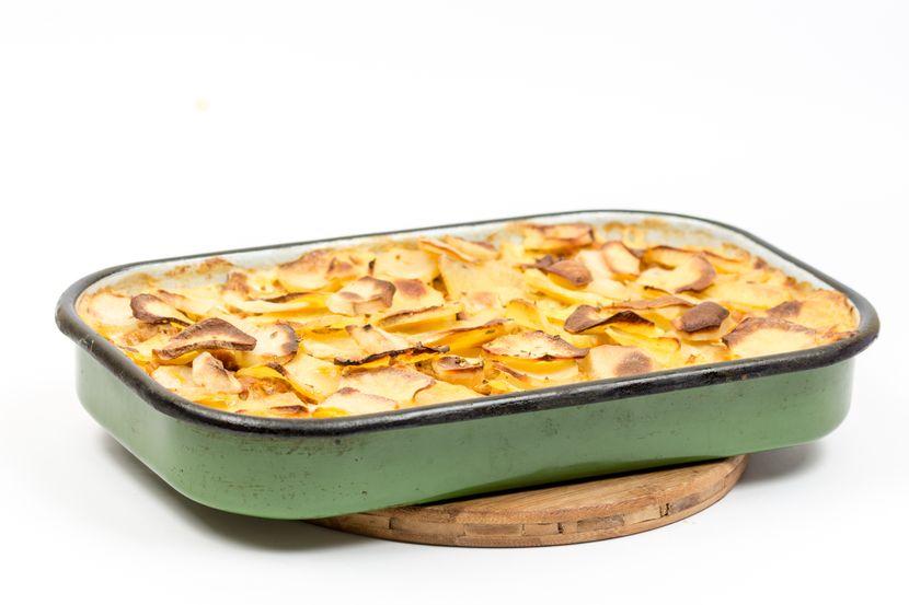 Мусака од компир и ориз: Едноставен рецепт за посен ручек