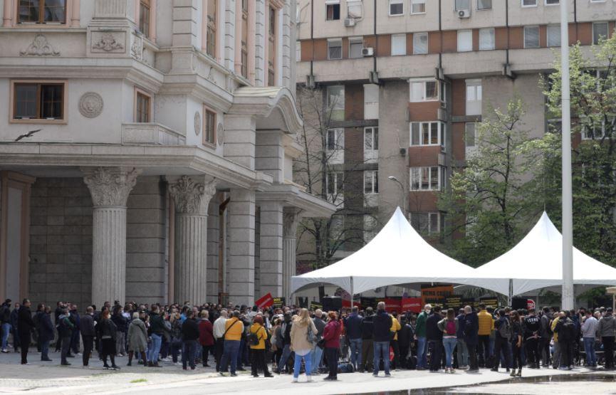 И денеска протест на ТУК, се приклучува и Комората на сметководители