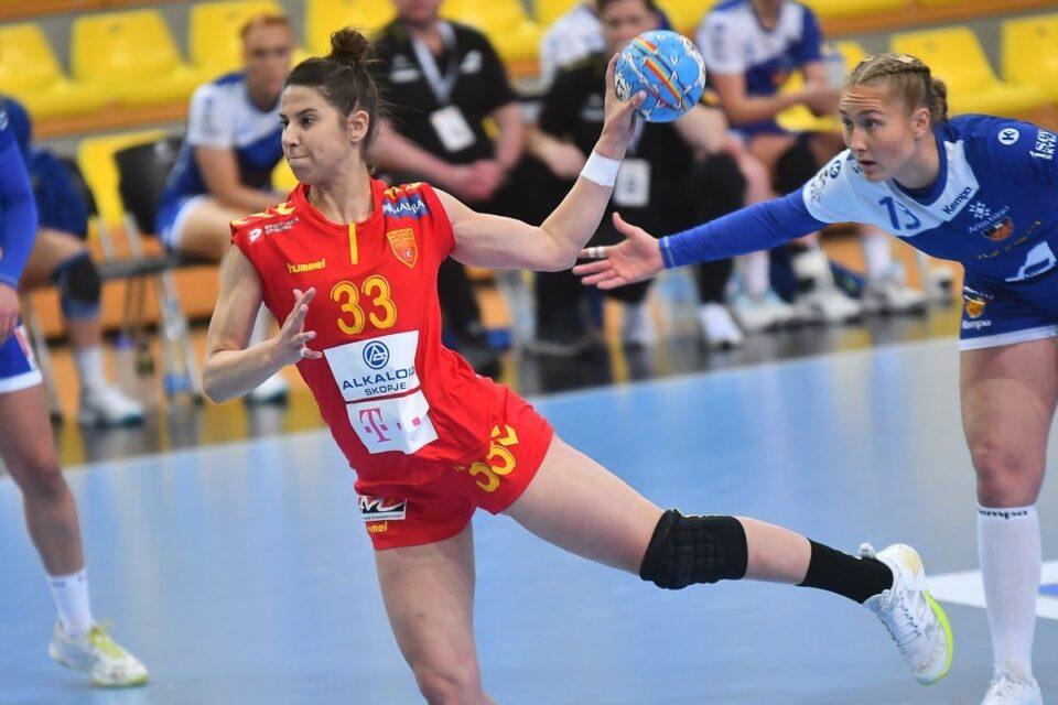 Сара Ристовска е најдобро десно крило во ЛШ оваа сезона