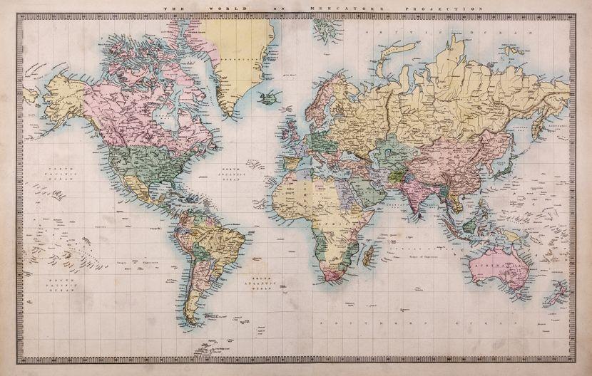 Каде има најмногу луѓе кои го носат вашето име и презиме? Проверете на оваа интерактивна мапа на светот