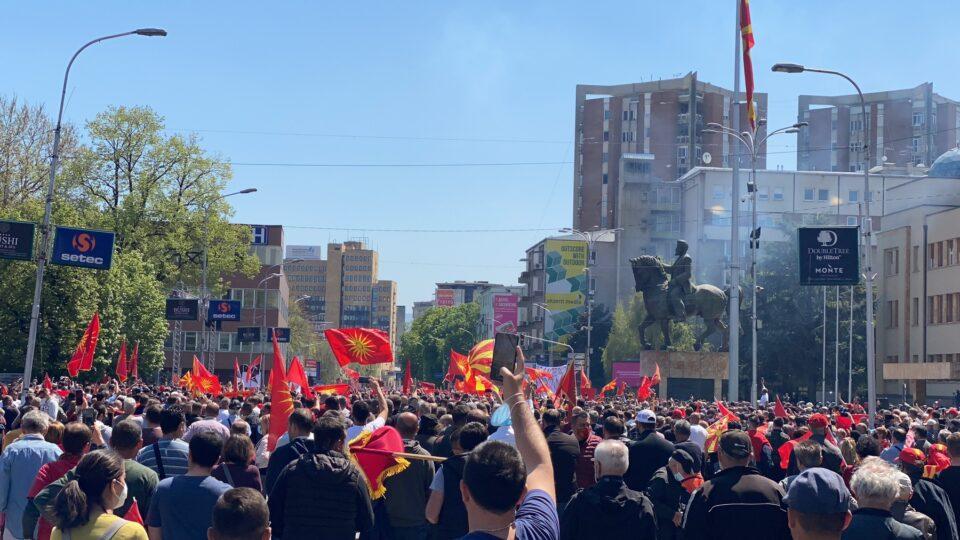 Јанушев: Протестот за уставобранитетелите, беше и протест за огромното незадоволство од власта на Заев