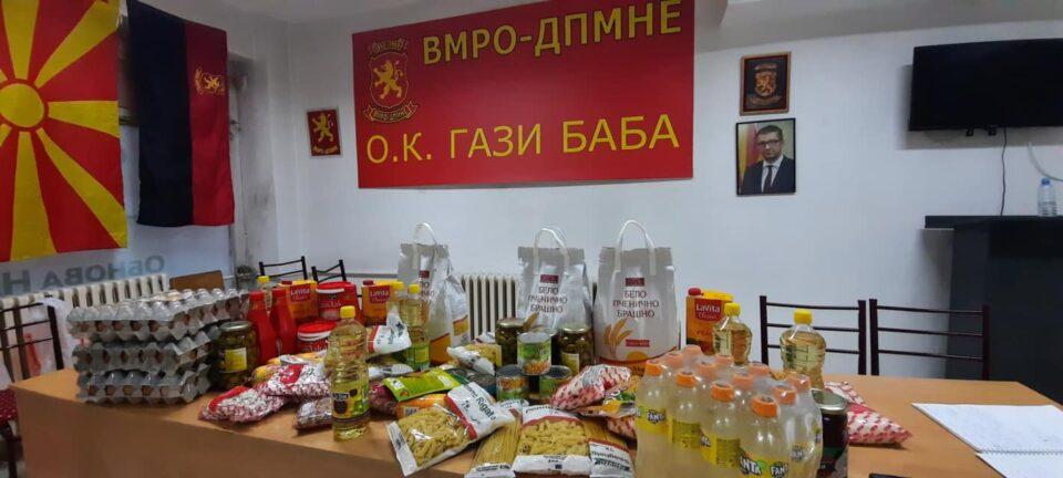 Стефковски и УМС во донаторска акција во пресрет на Велигденските празници