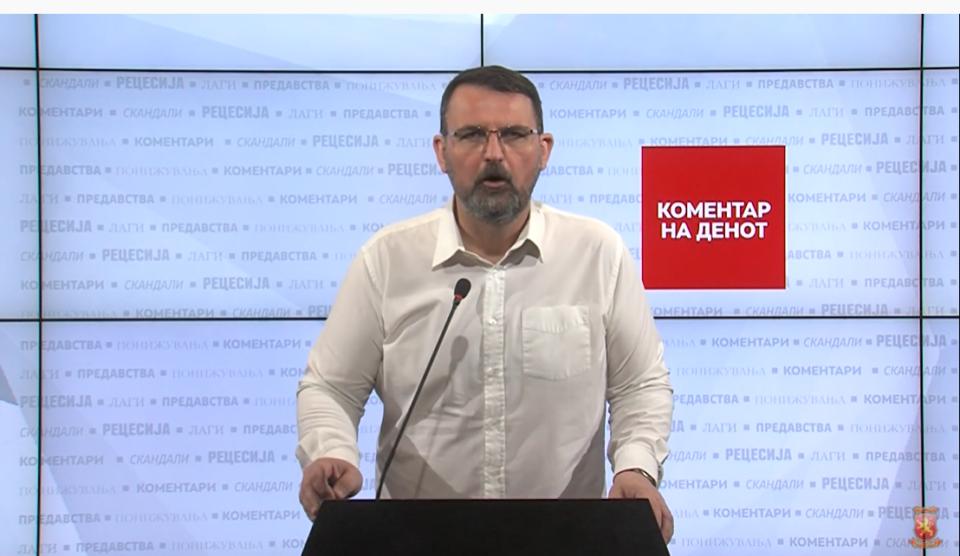 Стоилковски: Македонија со Заев е земја која дава закрила на мафијата, помага тероризам и во која царува нарко бизнисот