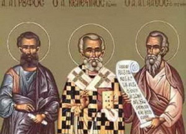 Денеска е Св. апостоли Иродион, Флегонт, Ермо