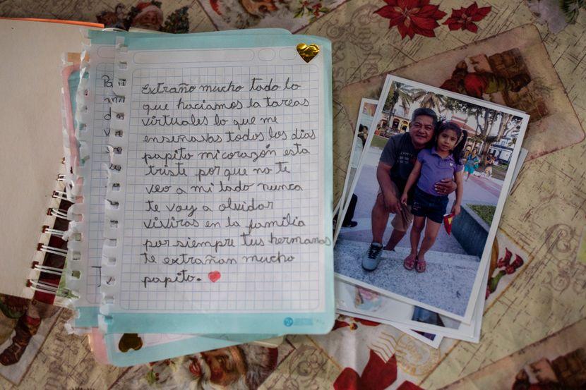 """Потресно писмо од малата Адријана до нејзиниот татко кој почина од коронавирус: """"Тато, срцето ми е тажно, каде си?"""""""