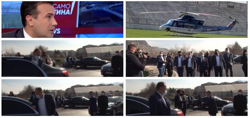 Вели дека заштедил, а направил двоен трошок: Дрски лаги на Заев, денес користел и хеликоптер и службени возила (ФОТО)