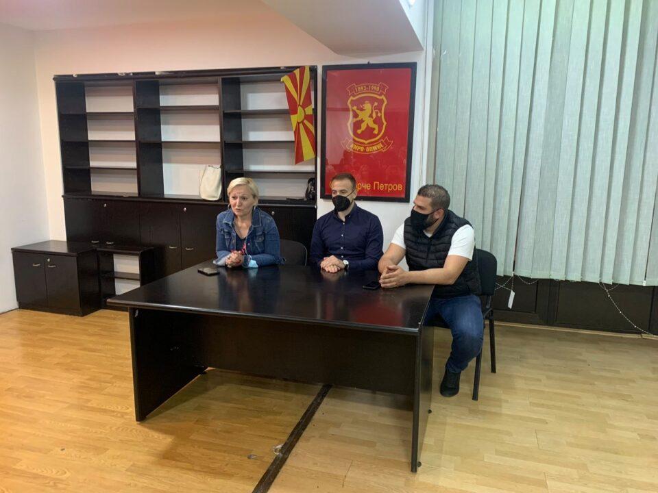 Стојаноски на средба со УЖ на ВМРО-ДПМНЕ од Ѓорче Петров