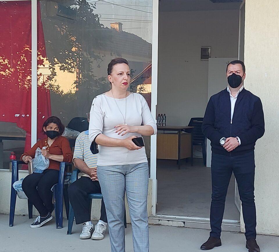 Жаклина Пешевска на средба со граѓаните