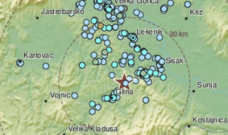 Два земјотреси ја стресоа Хрватска за еден час