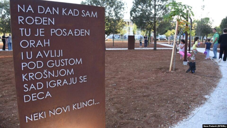 Подгорица му оддаде голема почит на Балашевиќ – отворен парк посветен на славниот пејач (ФОТО)