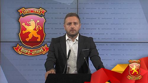 Арсовски: СДСМ сака да украде 600.000 евра преку маркетинг кампања