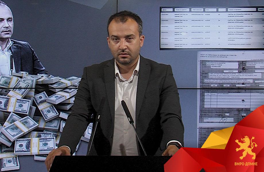 Лефков: Филипче и Заев уплатиле 7.8 милиони на фантом фирмата од Хонг Конг, тоа не е гаранција, туку чиста исплата со акредитив, а сега да одговорат каде требало да заврши разликата