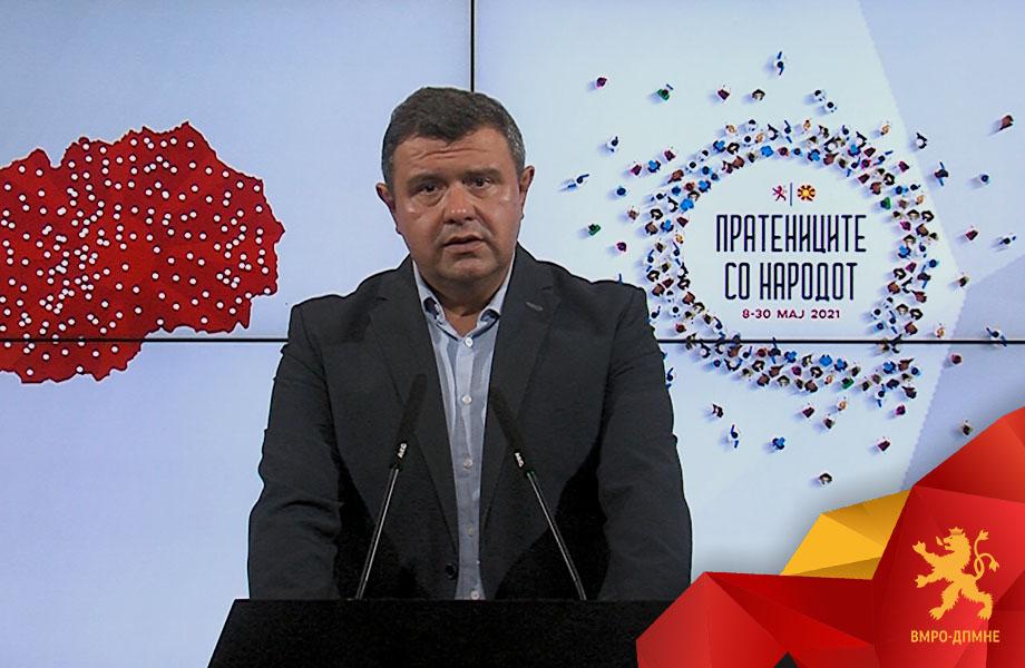 """Мицевски: Пратениците на ВМРО-ДПМНЕ почнуваат со акција """"Пратениците со народот"""" од 8-ми до 30-ти мај ќе посетат 500 села и ќе допреме до секој граѓанин"""