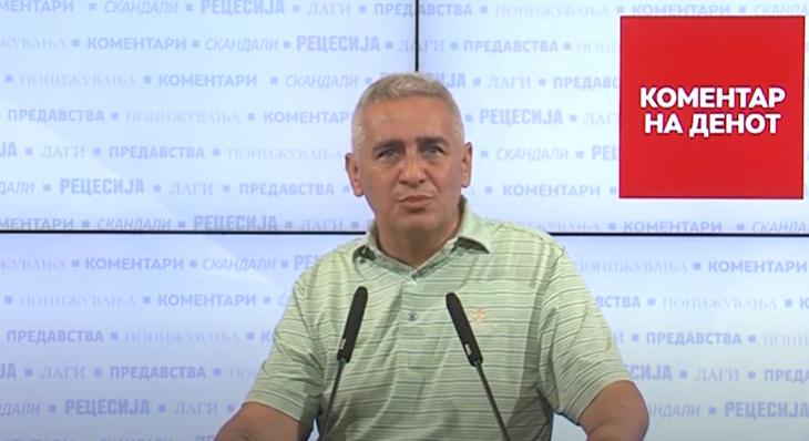 Ивановски: Горан Трајковски не реализира ништо од тоа што го вети, нема нови фабрики и инвестиции, над 60% од капиталните инвестиции не се исполнети