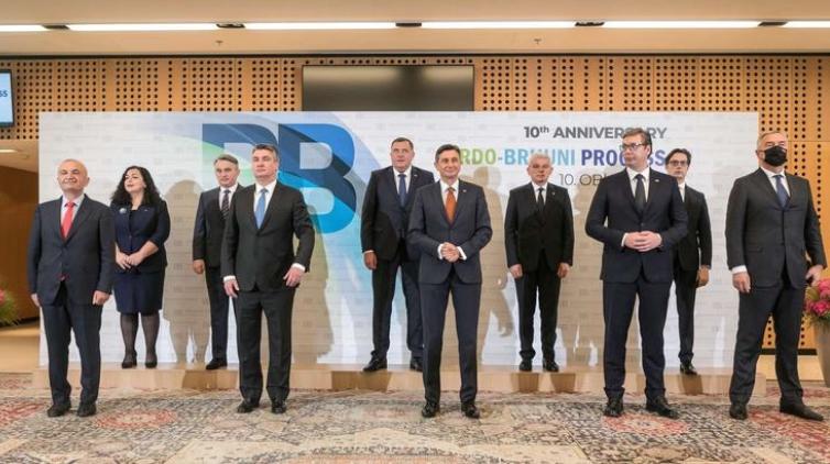 Заврши пленарната средба на лидерите од Западен Балкан на Брдо кај Крањ