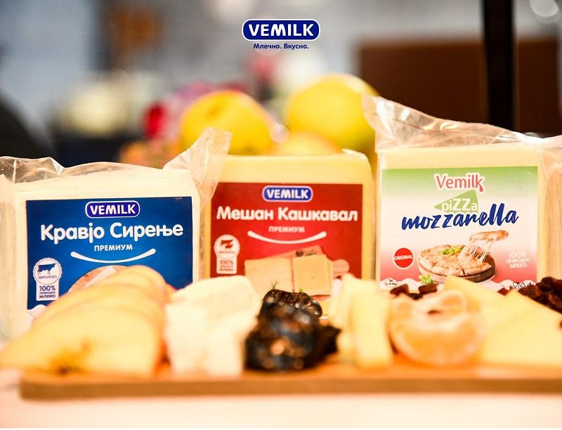 VEMILK советува – Зошто е добро да се консумира сирење и кашкавал?