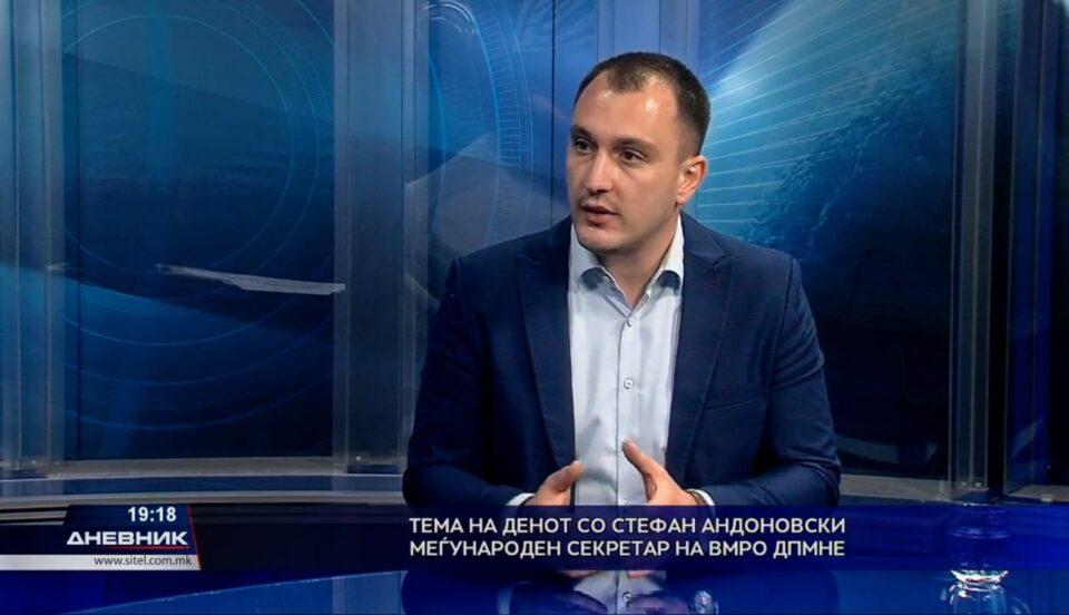 Андоновски: Македонија е балкански рај за производство на дрога, а најблиските пријатели на премиерот шверцуваат дрога
