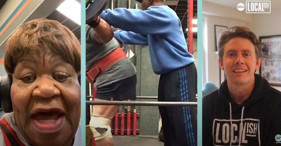 Супер бабичка: 78-годишна пензионерка држи 19 рекорди – крева тегови од 180 килограми (ВИДЕО)