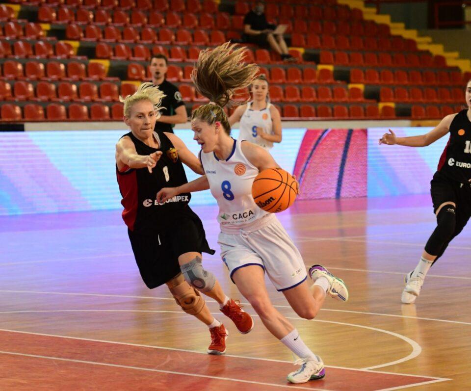 Баскет Кам освојувач на женскиот кошаркарски Куп за оваа сезона