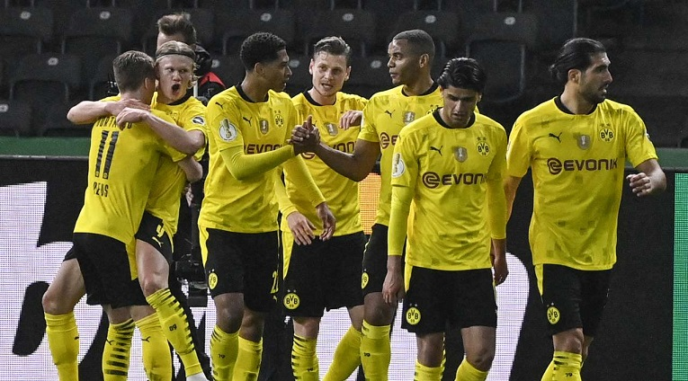 Борусија Дортмунд е освојувач на германскиот фудбалски Куп