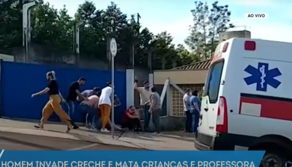 Хорор во Бразил: Тинејџер со мачета влегол во градинка – убиени се деца (ВИДЕО)