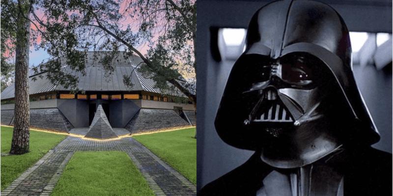 """ФОТО: Се продава """"Дарт Вејдер"""" куќа, градена според изгледот на познатата маска"""