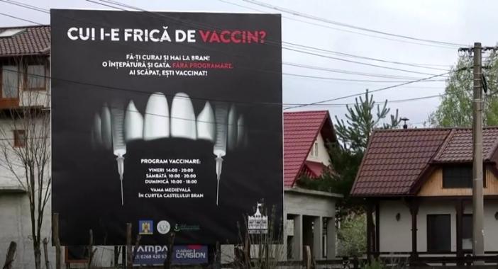 ФОТО+ВИДЕО: Нова атракција во замокот на Дракула, може бесплатно да се вакцинирате против Ковид-19