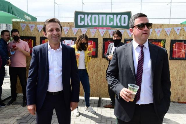 Фудбалската федерација и Пивара Скопје нови партнери – Заедно, и се е можно!