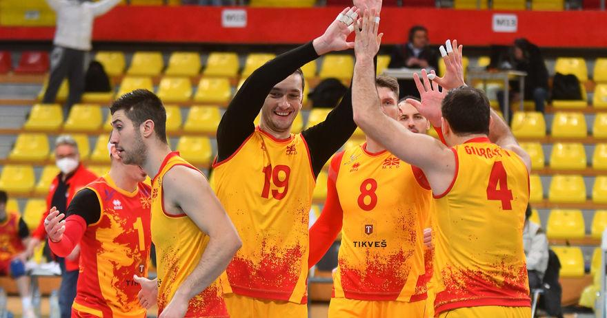 Одбојкарите на Македонија подобри од Израел