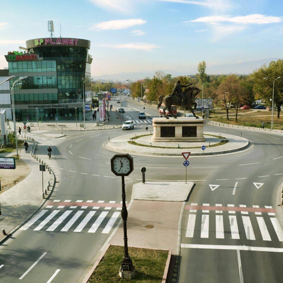 ВО ЖИВО: Протест на граѓаните на Хром во Ѓорче Петров
