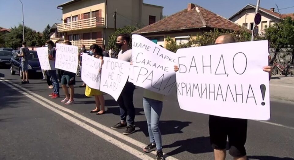 Ѓорчепетровци денес на протест против урбанистичкиот хаос