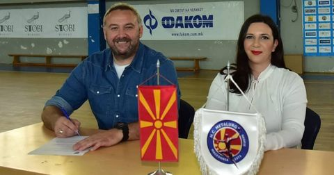 Иван Маровски потпиша тригодишен договор со Металург