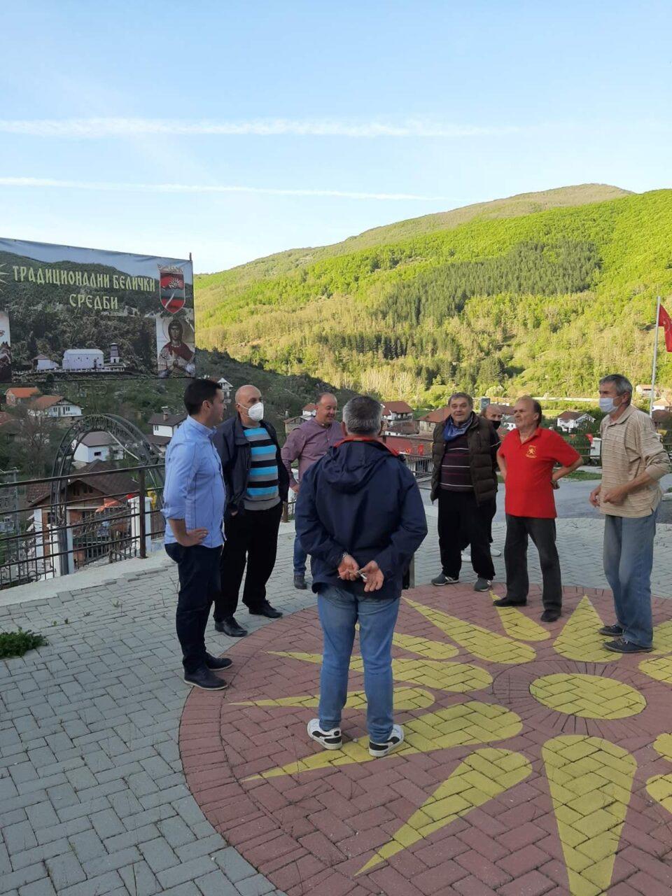 """Акцијата """"Пратениците со народот"""" продолжи во текот на денешниот ден, остварени средби со граѓани во повеќе места низ Македононија (ФОТО)"""