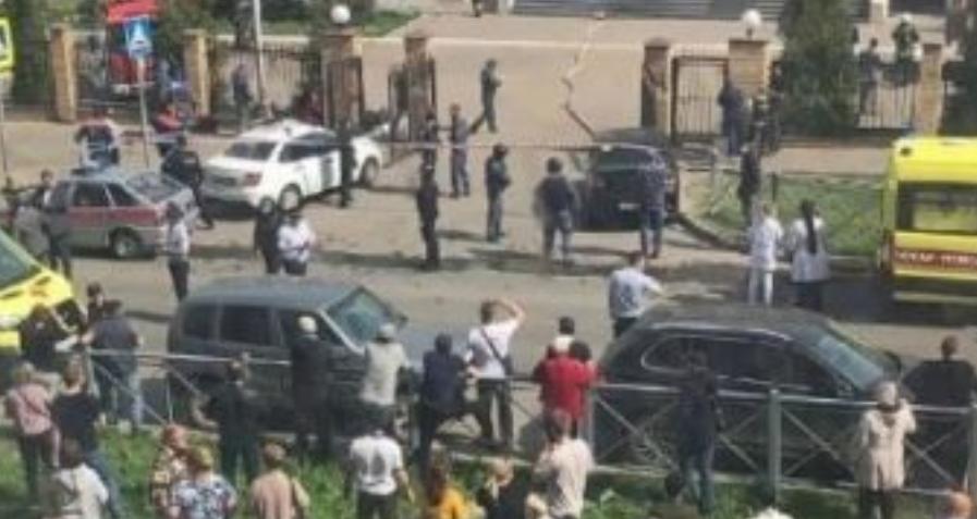 Детали за пукањето во училиште во Казан: 11 лица се убиени, 32 ранети (ВИДЕО)