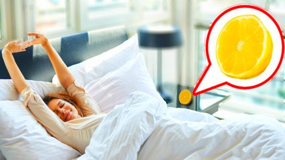 Ставете лимон во собата во која спиете: Кога ќе дознаете како помага, веднаш ќе го направите тоа