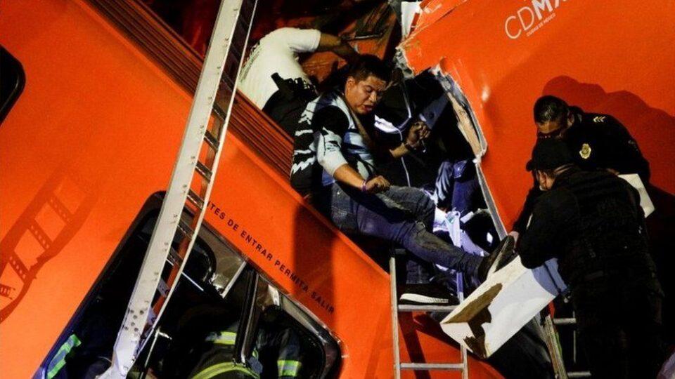 Расте бројот на загинати во несреќата во Мексико Сити
