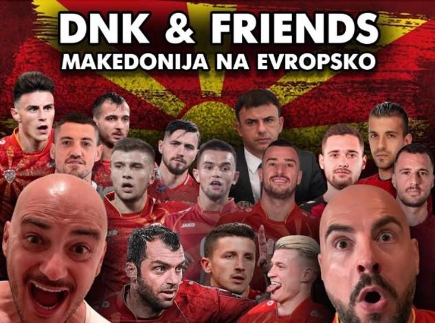 """""""МАКЕДОНИЈА НА ЕВРОПСКО"""": Песна за бодрење на фудбалерите кои сега се наши херои (ВИДЕО)"""