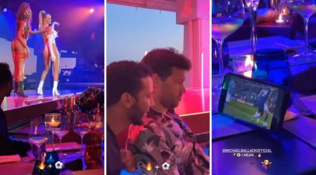 ФУДБАЛОТ ПРЕД СЀ: Околу него играат танчерки а тој на телефон го гледа Челзи – ова видео од Балак стана хит на социјалните мрежи (ВИДЕО)