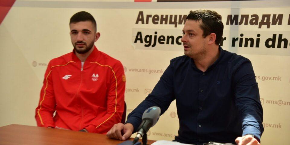 Дејан Георгиевски денеска на прием во Агенцијата за млади и спорт