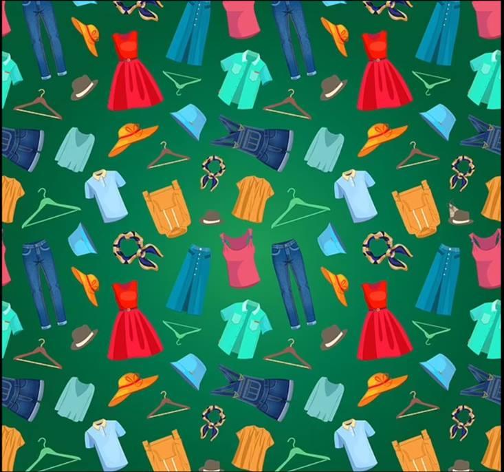 ФОТО: Пронајдете го молецот меѓу облеката, рекордот е 13 секунди