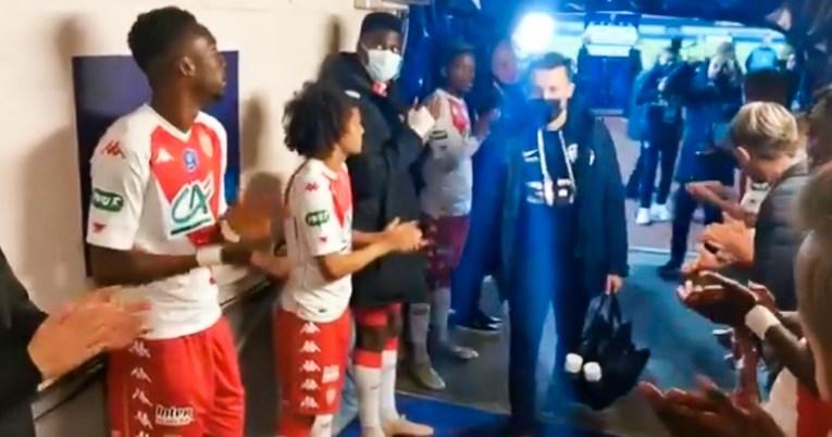 ВИДЕО: Фудбалерите на Монако воодушевија со гестот откако ги елиминираа аматерите во полуфиналето на Купот